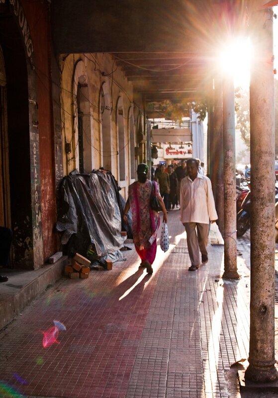 Улицы Панаджи (Панджим). Panaji (Panjim) streets.