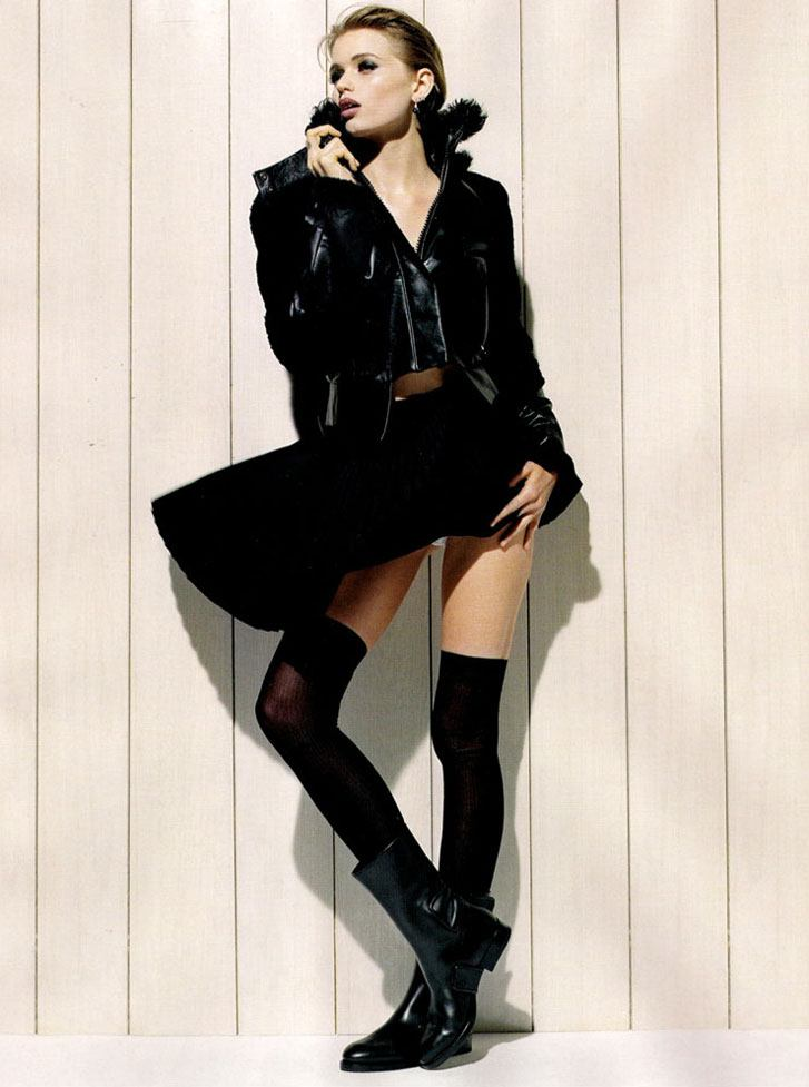 модель Эбби Ли Кершоу / Abbey Lee Kershaw, фотограф Jamie Morgan
