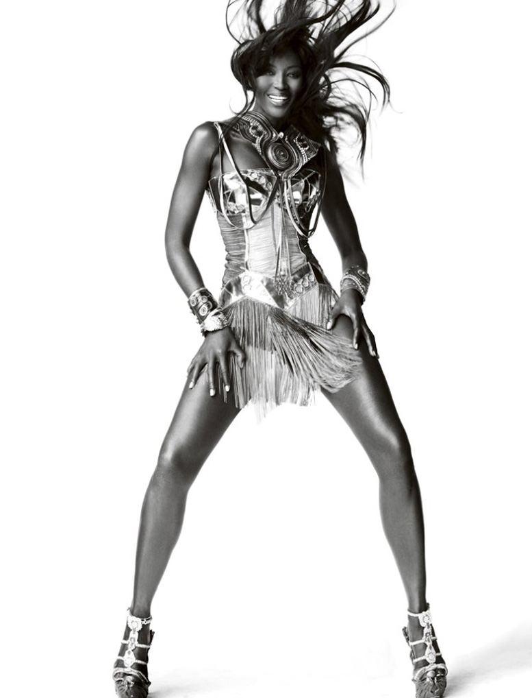 Star Girls by Mario Testino in Vogue UK december 2010