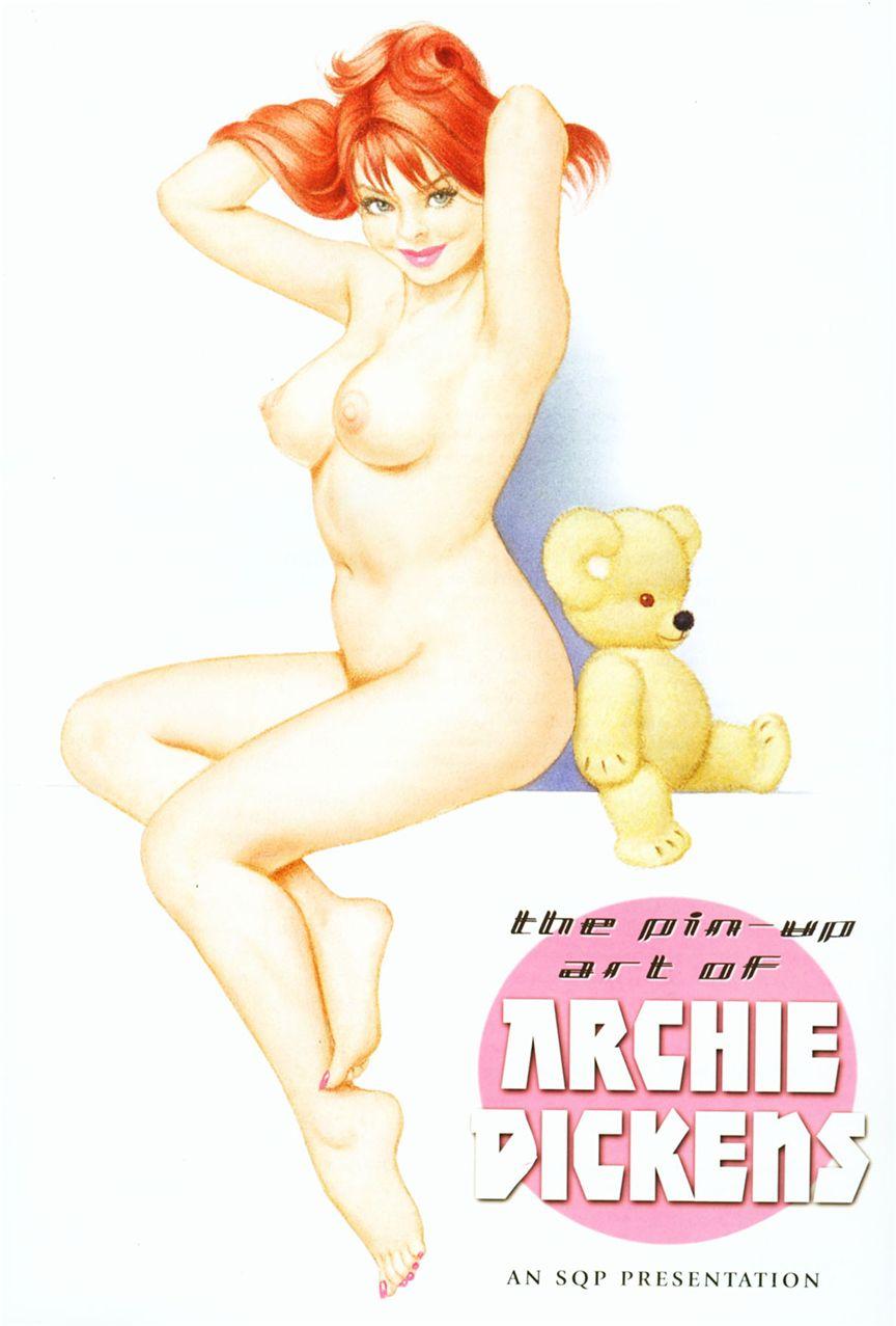 Пин-ап Арчи Дикенса / The Pin-up Art of Archie Dickens