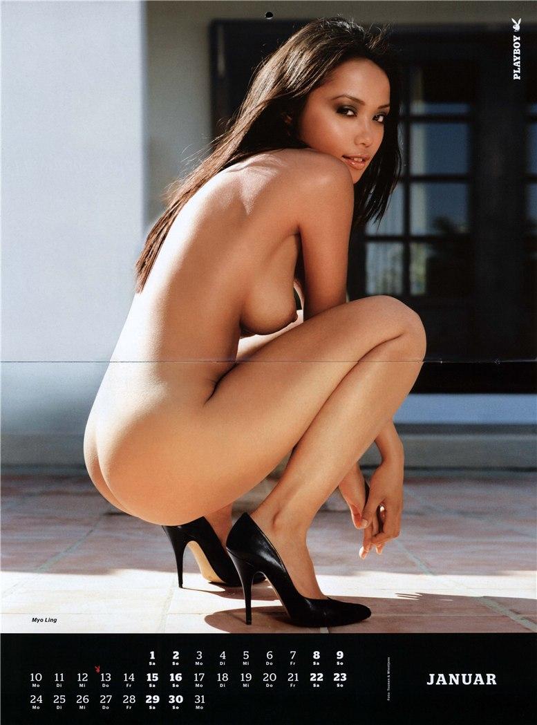 календарь Playboy Germany Playmate Calendar 2011 - Myo Ling