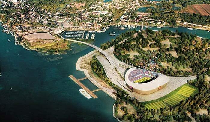 Стадион в Самаре к Чемпионату мира 2018