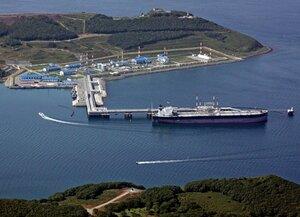 В январе из Козьмино отгружено более 12 партий нефти по 100 тыс. тонн каждая
