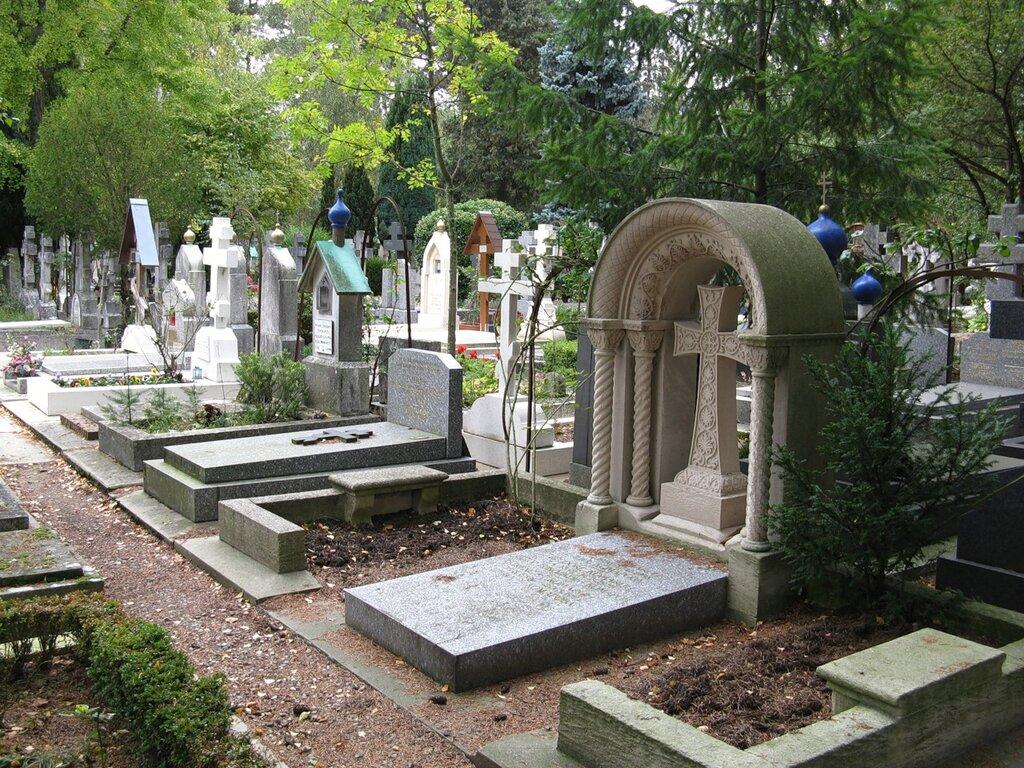 Кладбище Сент-Женевьев-де-Буа (Cimetière de Sainte-Geneviève-des-Bois)