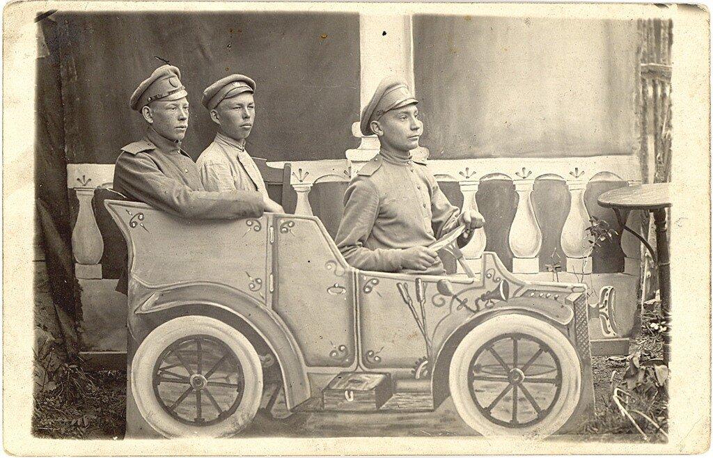 русские солдаты 1916