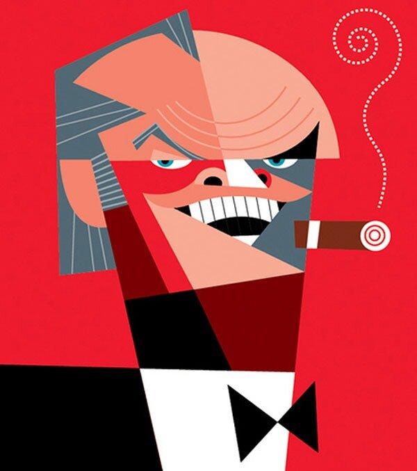 Jack Nicholson by Pablo Lobato
