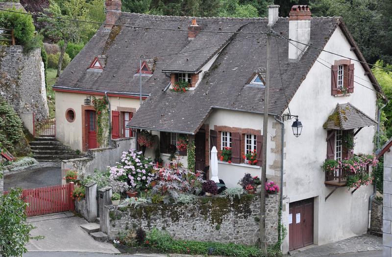 сельские дома во франции фото фотографа