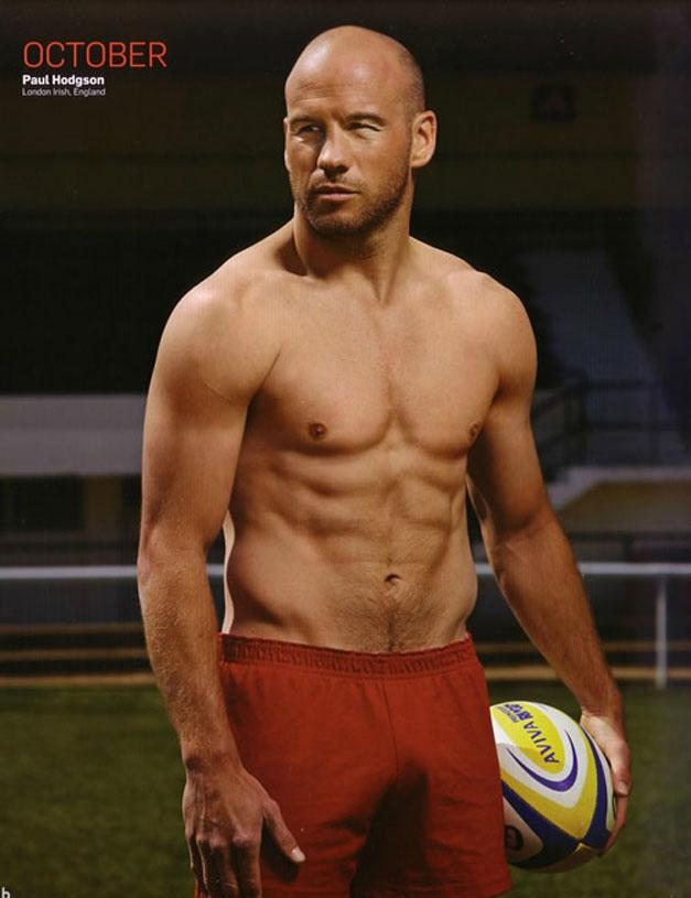 Календарь английских регбистов / Rugby-s Finest 2012 calendar - Paul Hodgson