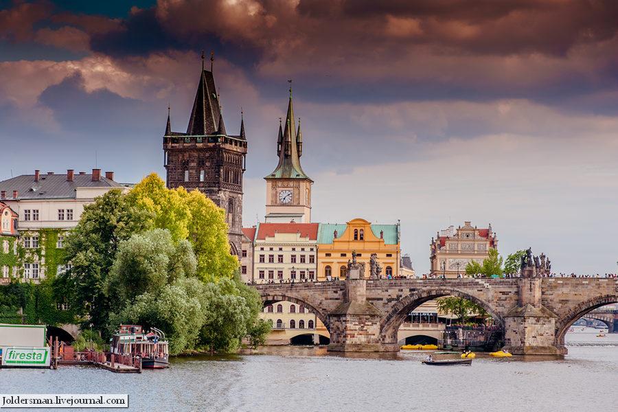 Река Прага