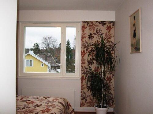Вторая стена спальни - зимний вариант