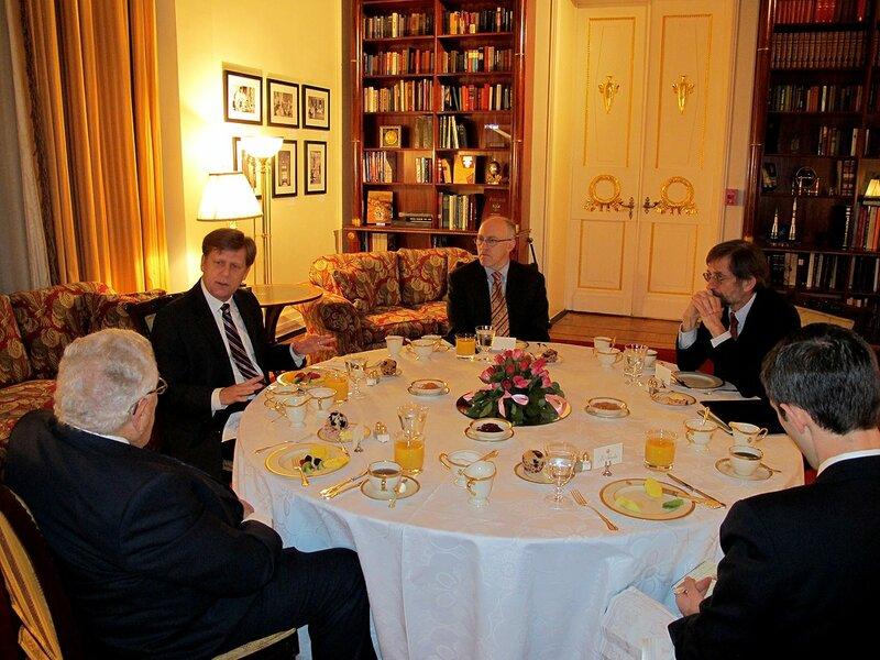 Генри Киссинджер в Москве, январь, 2011