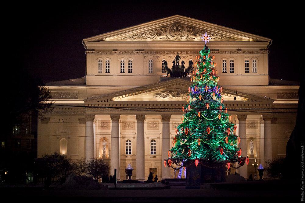 Новогодняя ёлка «Щелкунчик» на Театральной площади
