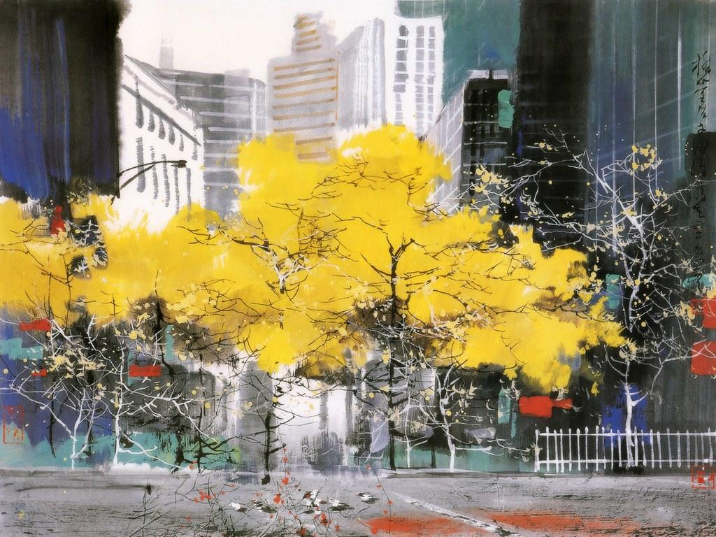Живопись Liu Maoshan (24 фото)