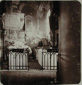 Могилы императоров в усыпальнице Петропавловского собора