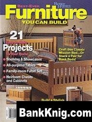 Журнал Furniture You Can Build pdf 27Мб