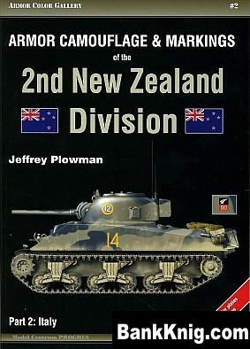 Книга Armor Camouflage & Markings of the 2Nd New Zealand Division. Part 2: Italy pdf (200 dpi) 1638x2284 bronco 40,4Мб