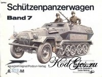 Книга Waffen-Arsenal 007 - SdKfz 250 + 251 Schuetzenpanzerwagen