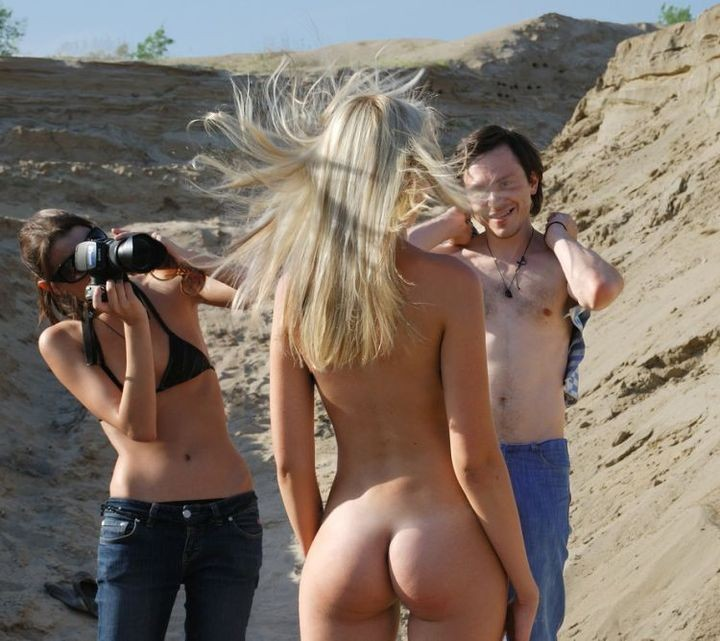 Тяжелая работа фотографов