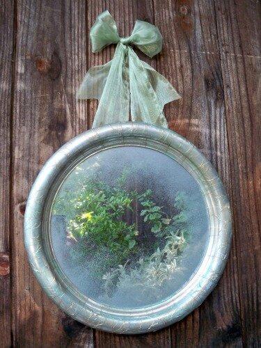 Как состарить зеркало Идея от Марка Монтано