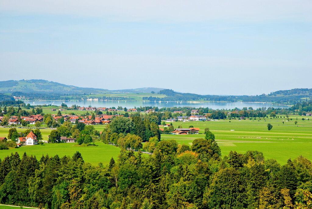 Пейзаж с озером Форгензее