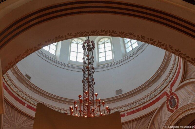 Купол бывшего Богоявленского собора