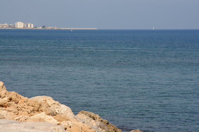 Эгейское море у побережья острова Родос
