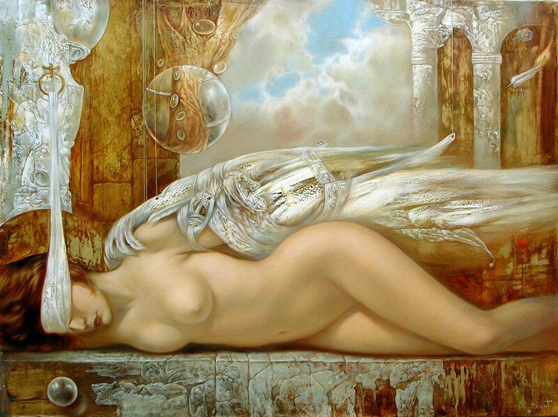 Эротические женские образы в работах современных художников