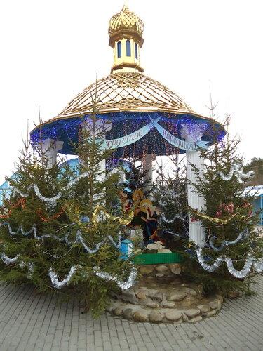 Украина. Источник Святой Анны. Беседка