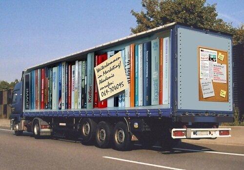 Потрясающая реклама на грузовиках