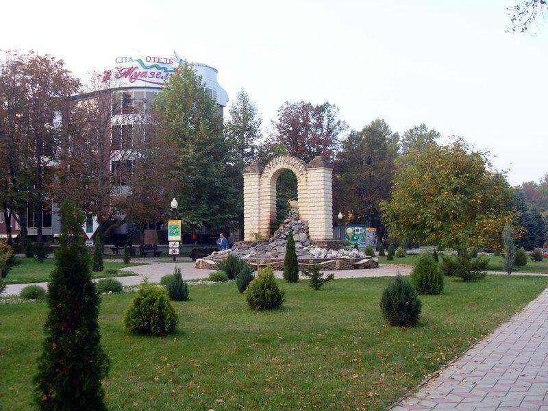 В Горячем Ключе, Октябрь 2009, туризм, город, Кубань, горы, Кавказ