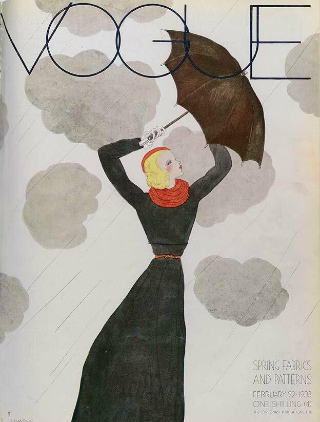 Vogue Magazine cover 1933
