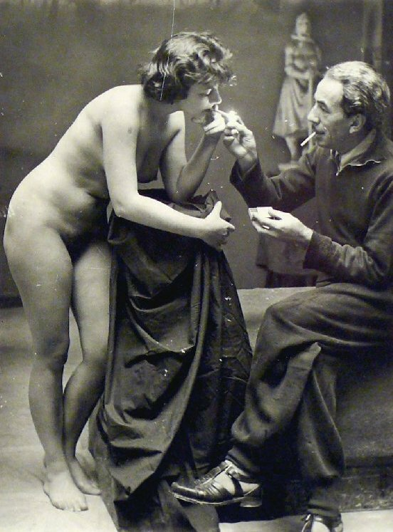 1950s model nude