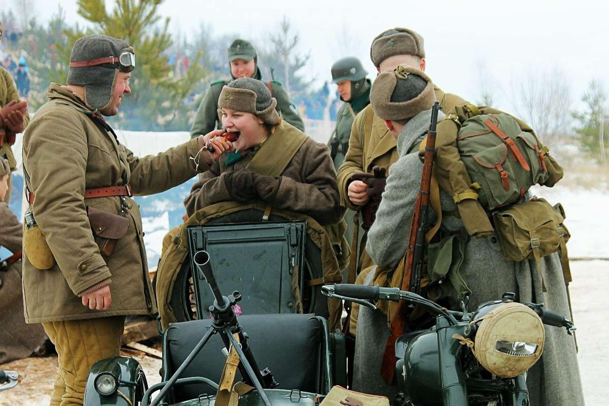 Забавные моменты из жизни военных реконструкторов (109)