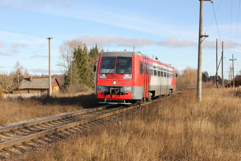 РА1-0045 у платформы Кузнецовка, перегоне Заваруйка - Себеж