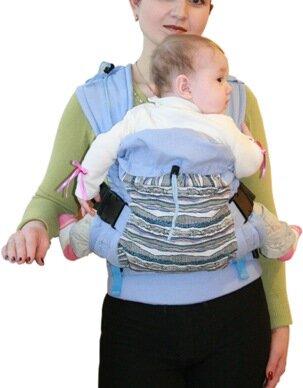 Эргономичный рюкзак для новорожденного