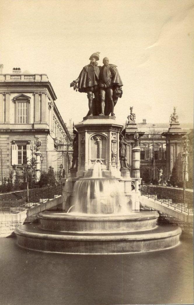 Памятник графов Эгмонта и Горна