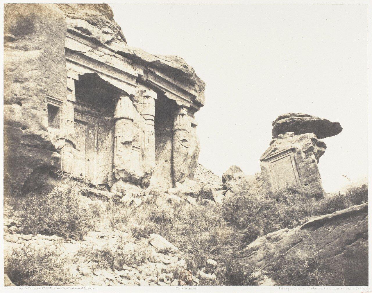 Гебель эс-Сильсила. Стелы из древнеегипетского карьера