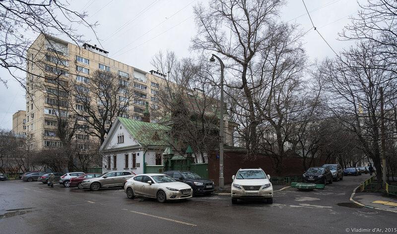 Дом-музей В.М. Васнецова. Васнецов переулок, 13.