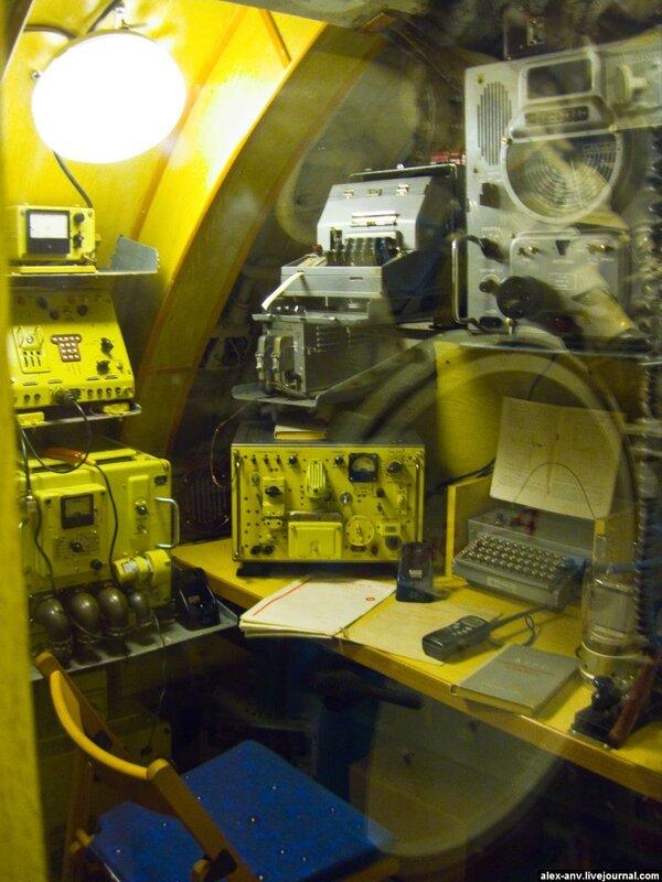 Подводная лодка С-189. Рубка связистов.