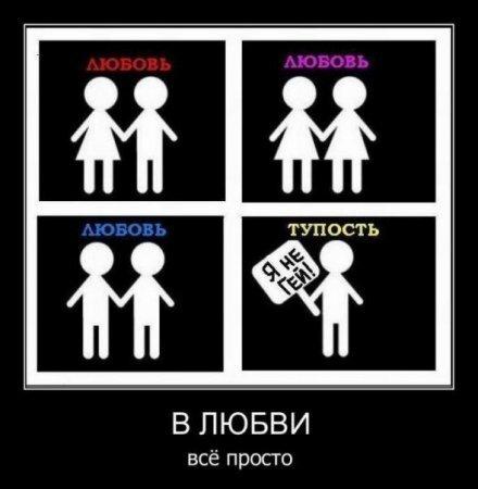 геи. толерантность. любовь