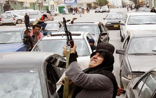 Авиация Каддафи