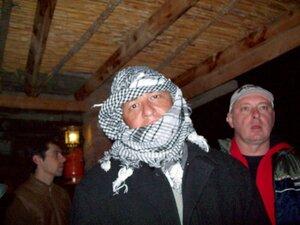 На Священной горе Моисея ночью очень холодно