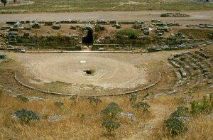 Эретрия древний театр