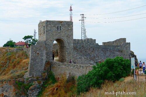 калиакра, болгария, путешествие, средневековый замок