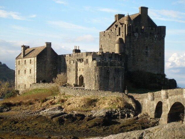 Замок Эйлеан Донан (Eilean Dohan Castle)