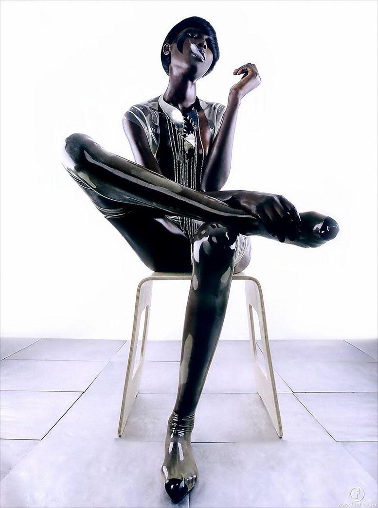 модель Джи Диенг / Dji Dieng