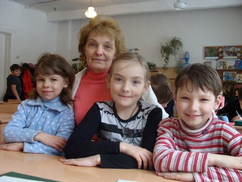 Группа продленного дня в Максатихинской начальной школе