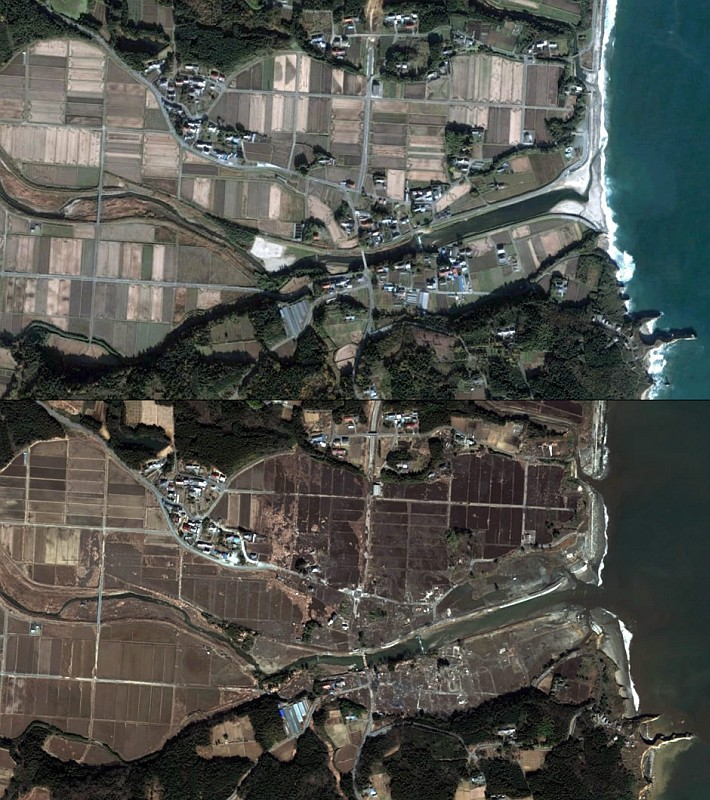 Village wiped out near Fukushima nuclear power plant