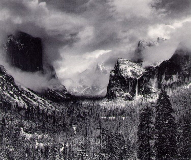 Ansel Adams, Clearing Storm