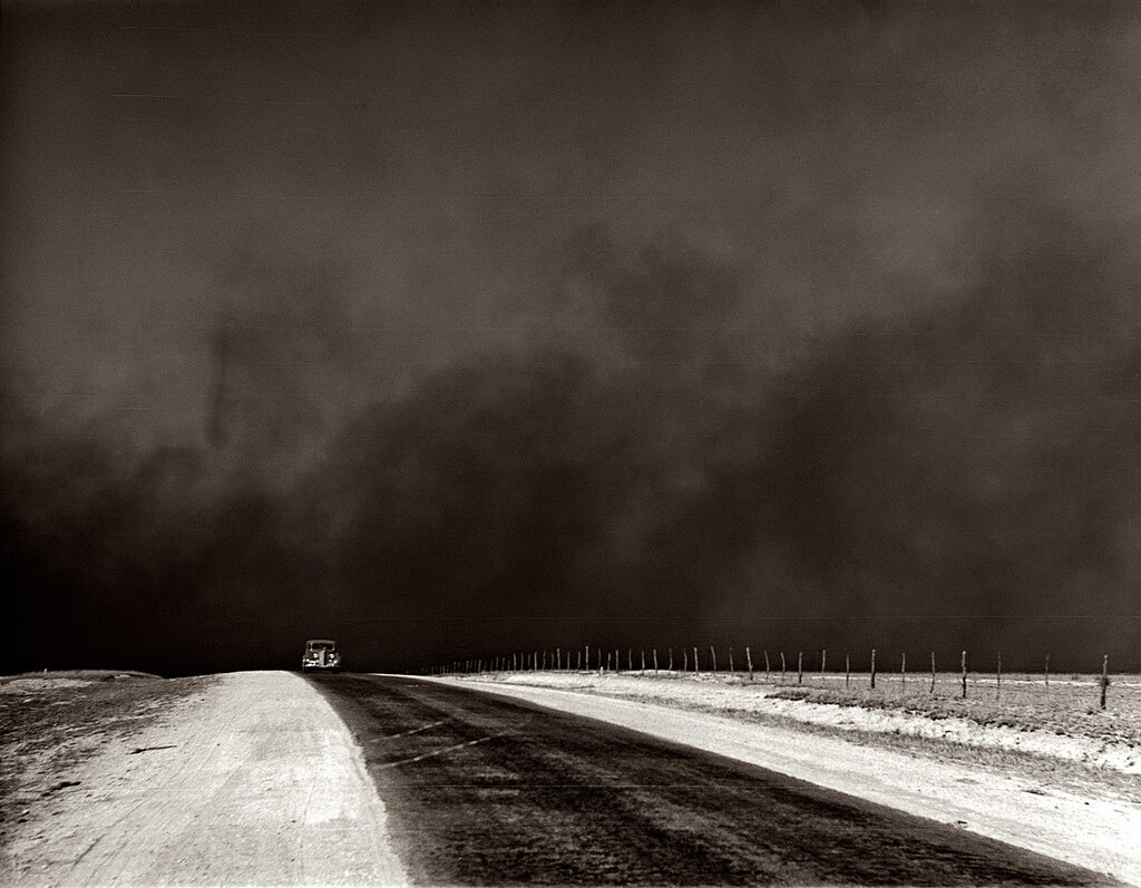 photo by Arthur Rothstein,  1936